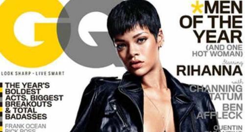 Rihanna nuda: foto sexy sulla copertina di GQ